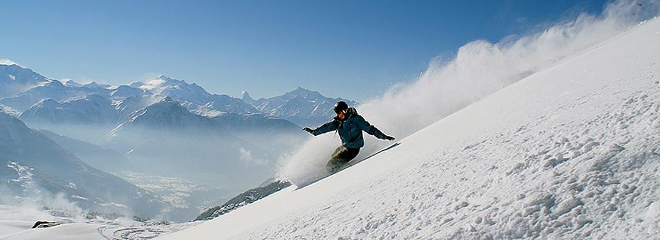 winter ski paradise